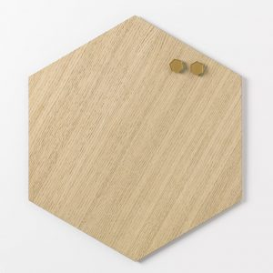 Magnetic Hexagonal boards 42 cm.